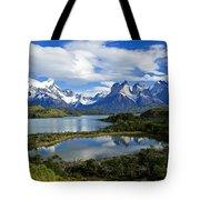 Springtime In Patagonia Tote Bag