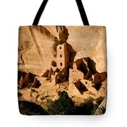 Square Tower Ruin Tote Bag