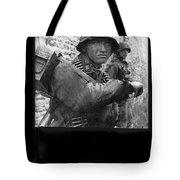 Ss Waffen Corporal Otto Funk Circa 1943 Tote Bag