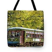 St. Charles Ave. Streetcar 2 Tote Bag