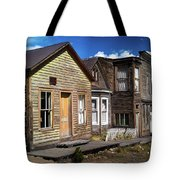 St. Elmo Ghost Town Tote Bag