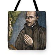 St. Ignatius Of Loyola Tote Bag