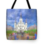 St Louis Cathedral  Tote Bag