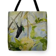 St. Lucian Hummingbird Tote Bag