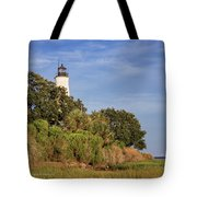 St. Mark's Lighthouse 28 Tote Bag