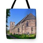 St Mary's Church - Tutbury Tote Bag