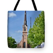 St. Matthew's German Evangelical Lutheran Church Tote Bag