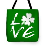 St. Patrick's Day - Love Tote Bag