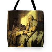 St. Paul In Prison Tote Bag