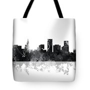 St Paul Minnesota Skyline Tote Bag