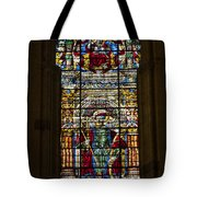 Stained Glass - Cathedral Of Seville - Seville Spain Tote Bag