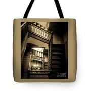 Staircase In Swannanoa Mansion Tote Bag