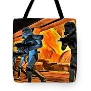 Star Wars Invasion Tote Bag