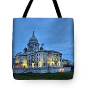 State House Night Tote Bag
