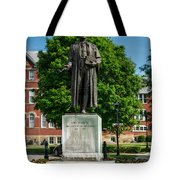 Statue Of Chief Justice John Marshall Tote Bag