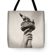 Statue Of Liberty, 1876 Tote Bag