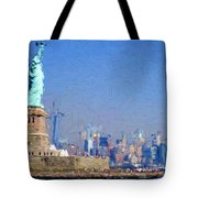 Statue Of Liberty, Nyc Tote Bag