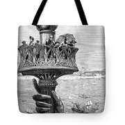 Statue Of Liberty: Torch Tote Bag