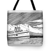 Steamship Virginia V Tote Bag
