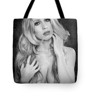 Steamy Wet Tote Bag