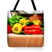 Still Life - Vegetables Tote Bag