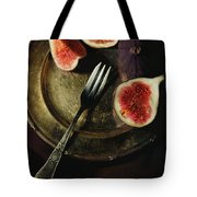 Still Life With Fresh Figs Tote Bag
