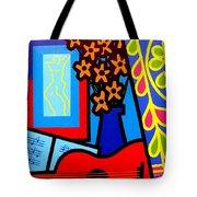 Still Life With Henri Matisse's Verve Tote Bag