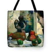 Still Life With Profile Of Laval Tote Bag