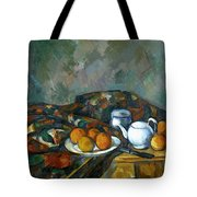 Still Life With Teapot Tote Bag