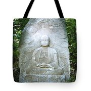 Stone Buddha  Tote Bag