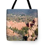 Stone Quarry At Red Rock Canyon Open Space Park Tote Bag