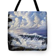 Storm Approach Tote Bag