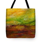 Storm At Sunrise Tote Bag