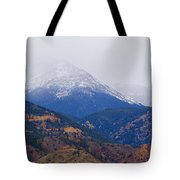 Storm Clouds On Pikes Peak Tote Bag