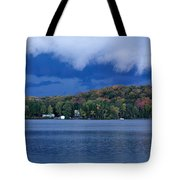 Storm Clouds Over The Lake Of Bays Tote Bag