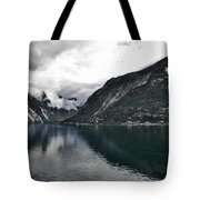 Storm In The Fiord Tote Bag