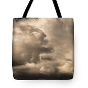 Storm Over Table Rock Tote Bag