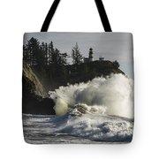 Storm Surf Tote Bag