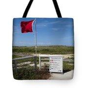Storm Warning On The Atlantic Ocean In Florida Tote Bag