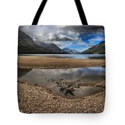 Storms Over Upper Waterton Lake Tote Bag