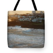 Stormy Weather In Azores Tote Bag