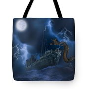 Stormy Weather Tote Bag by Solomon Barroa