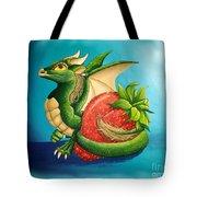 Strawberry Dragon Tote Bag