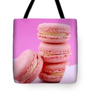 Strawberry Flavor Macaroons Tote Bag