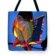 Street Light And Fireworks As Art Tote Bag