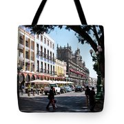 Streets Of Puebla 5 Tote Bag