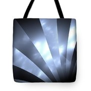 Stripes And Sky Tote Bag