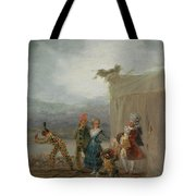 Strolling Players Tote Bag