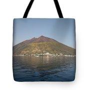 Stromboli Volcano, Aeolian Islands Tote Bag