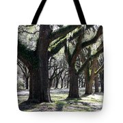 Strong Trees In The South Tote Bag